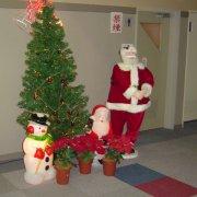 クリスマスイルミネーション3【山梨の観光立ち寄り温泉−つむぎの湯】