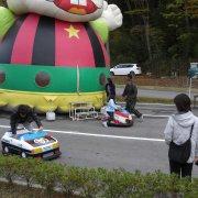 5周年記念秋祭(子供コーナー)【山梨の観光立ち寄り温泉−つむぎの湯】