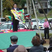 5周年記念秋祭(マジックショー)【山梨の観光立ち寄り温泉−つむぎの湯】
