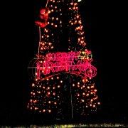 クリスマス館内外装飾2【山梨の観光立ち寄り温泉−つむぎの湯】
