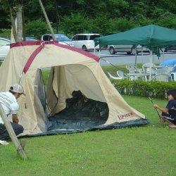 体験キャンプ2【山梨の日帰り温泉つむぎの湯】