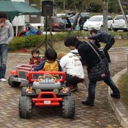 7周年祭(バッテリーカー)【山梨の日帰り温泉つむぎの湯】