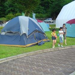 子供体験キャンプ2【山梨の日帰り温泉つむぎの湯】
