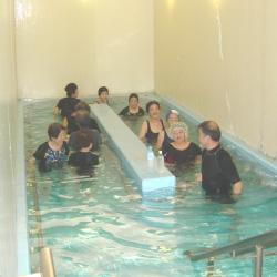 歩行浴教室2【山梨の日帰り温泉つむぎの湯】