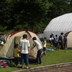 こども体験キャンプ2【山梨の日帰り温泉つむぎの湯】
