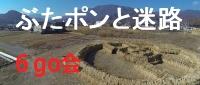巨大ワラアートと迷路−JR甲斐岩間駅東原に出現!